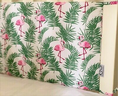 Gooseberry Baby Cot Crib Bumper Cotton Padded Flamingos 210 x 30 cm