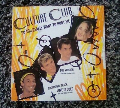 """Culture Club - Do You Really Want To Hurt Me (1982) Virgin 12"""" Vinyl Single"""