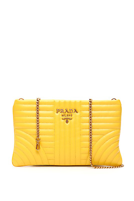 4ec42004135f Prada diagramme clutch with chain 1BF088 V COI 2D91 Sole - Authentic