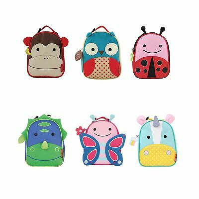 Skip Hop Zoo Lunchies Insulated Kids / Child Travel / School Lunch Bag Dinosaur