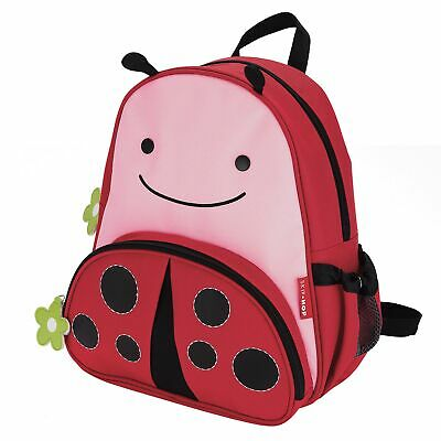 Skip Hop Childs / Kids Zoo Little Kids Backpack Bag Ladybug 210210