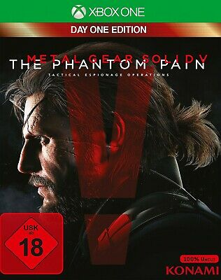Microsoft Xbox One game - Metal Gear Solid V: The Phantom Pain EN/GER boxed