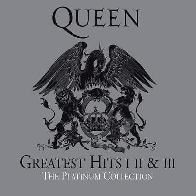 3Cd*queen**the Platinum Collection*greatest Hits I, Ii + Iii***nagelneu & Ovp!!