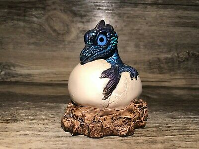 Windstone Editions Hatching Dragon - Peacock  (PENA '84)