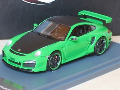 TechArt 1:43 Porsche 911 ( 997 II ) GT Street Tech Art green flatblack Neo OVP