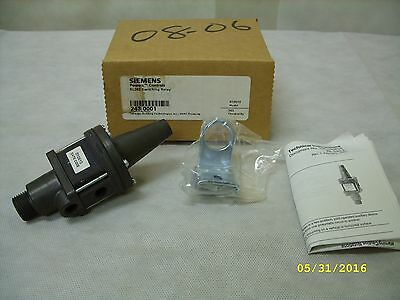 Siemens Powers Controls Rl243 Pneumatic Switching Relay 243-0001 / 010610 Nos