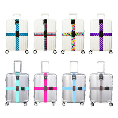 Adjustable Strong Extra Safety Travel Suitcase Luggage Baggage Straps Tie Belt m