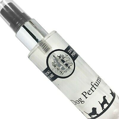 Cologne for Dogs, Perfume Spray 100ml & 30ml UK manufacturers of Fine Fragrance