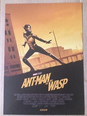 Ant-Man and The Wasp Poster [A4 high quality Card Art Print]  [The Wasp] *Odeon*