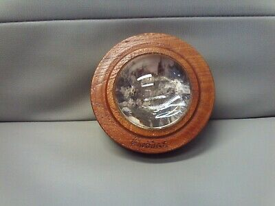 Vintage 1920s/30s Arts & Crafts Oak/Glass Photographic Memento Cheddar George