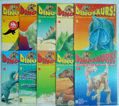 Dinosaurs Magazine Orbis 1992 Number 1 - 24 Magazines Only NO FREE GIFTS Select