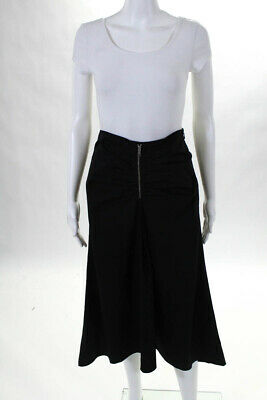 d416fe6f7c Trouve Womens Skirt Size Extra Small New $79 Black Ruched Long Maxi JG15
