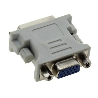 DVI-I Adapter Converter Male 24+5 To VGA Female For PC HDTV 15 Pin Dual Link