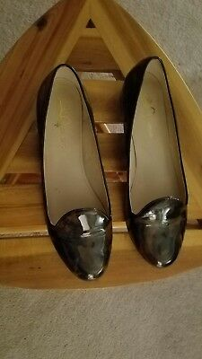 JOAN & DAVID Women's DAMITZIE Camouflage Patent Leather Shoes Size 11M