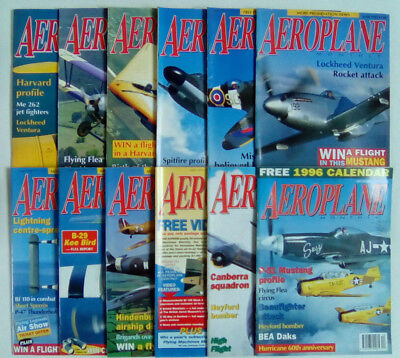 Aeroplane Monthly Magazine 1995 Jan. - Dec.  CONTENTS LISTED Select an Issue