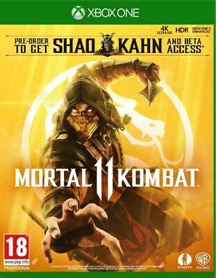 Mortal Kombat 11 (Xbox One)  BRAND NEW AND SEALED - IN STOCK - QUICK DISPATCH