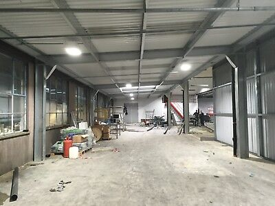 Portal Steel Frame Buildings,industrial Unit,shed.storage Building