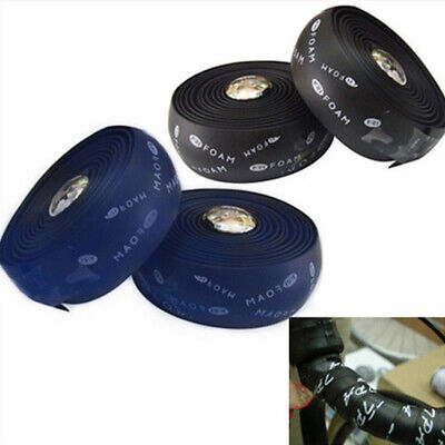 2pcs Bike Cycling Road Bike Sports Bicycle Handlebar Rubber Tape Wrap HOT