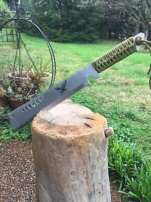 "19"" HUNTING JUNGLE MACHETE KNIFE MILITARY TACTICAL SURVIVAL SWORD W/ SHEATH b"