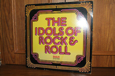 The Idols of Rock & Roll 3LPs RCA Special Products 1977 Various Artists NM/EX