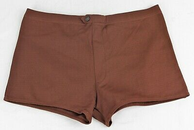 Vintage 1960's/70's Swimming TRUNKS      Brown  UNWORN with Tags   147 P