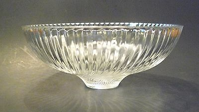 Clear Ribbed Swirl Dome Glass Satco # 50-842 Ceiling Light Shade Lighting  #84