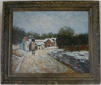 Alfred Sisley French impressionist oil painting Great painting! Must view!