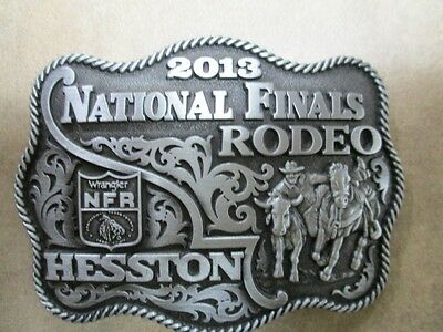 "2013 Hesston National Finals Rodeo ""Adult"" Belt Buckle"