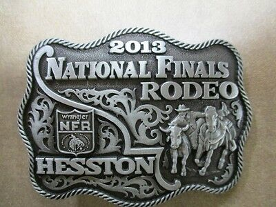 "2013 Hesston National Finals Rodeo ""Womans/Child"" Belt Buckle"