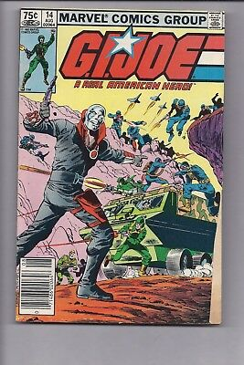 Canadian Newsstand Edition GI Joe #14 $0.75 Price Variant
