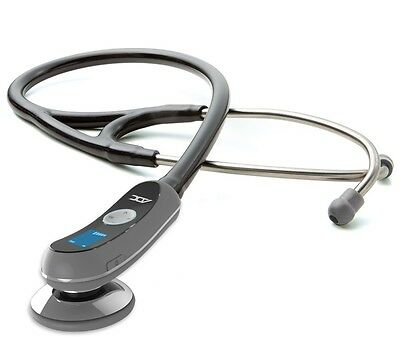 NEW ADC Adscope Model 658 Electronic Digital Stethoscope METALLIC GRAY
