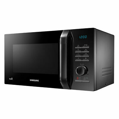 Samsung MS23H3125AK 800W Solo Microwave with 23L Capacity and Smart Moisture Sen