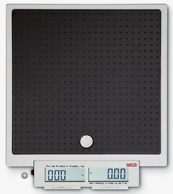 NEW Seca 874 Flat Scale for Mobile Use with Push Buttons and Double Display