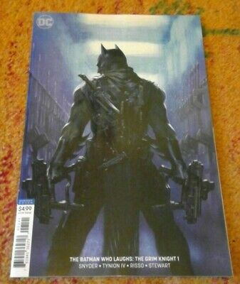 BATMAN WHO LAUGHS THE GRIM KNIGHT #1 - Dell'Otto Variant - Snyder - DC 2019 NEW