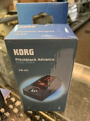 KORG PB-AD Pitchblack Advance Pedal Tuner New Free Shipping