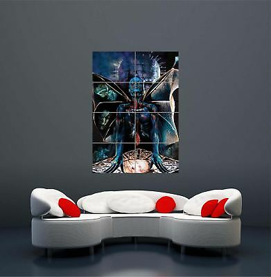 Hellraiser Movie Classic Cult Movie Film Giant Picture Art Print Poster
