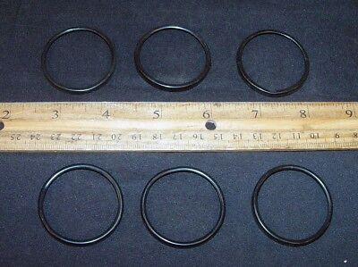 6 Black Card Ring Holders Automatic Electric Dial & False or Blank Retainer 23 !