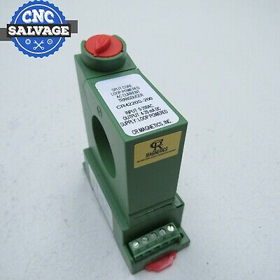 CR-MAGNETICS Split Core Loop Powered AC Current Transducer CR4220S-200