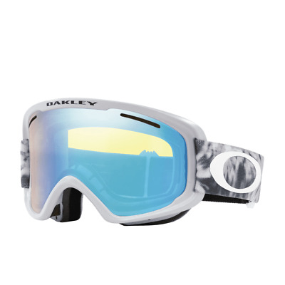 238af33f8b7 NEW  90 Oakley O Frame 2.0 XM Matte White Hi Intensity Yellow   Gry Lens  Goggles