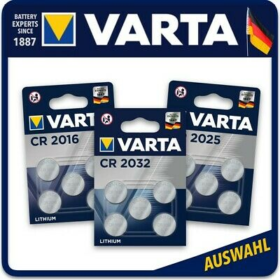 VARTA High-Tech Lithium Knopfzellen CR2016 l CR2025 l CR2032 l Blister l Bulk