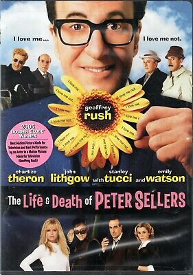 The Life and Death Of Peter Sellers   Brand New DVD   Free Shipping