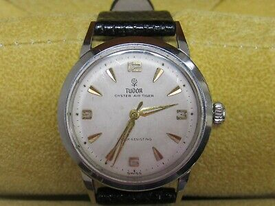 Vintage Tudor Watches >> Vintage Tudor By Rolex Oyster Air Tiger Watch 7957 645 00 Picclick