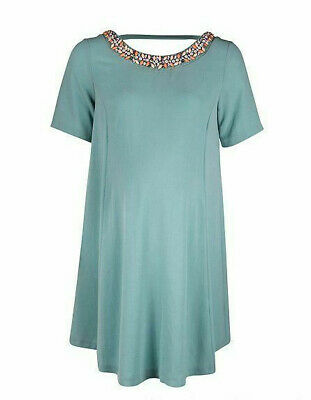 6bfc9c43a5441 BNWT Rock a Bye Rosie House of Fraser Leith Jewel Maternity Dress UK 18