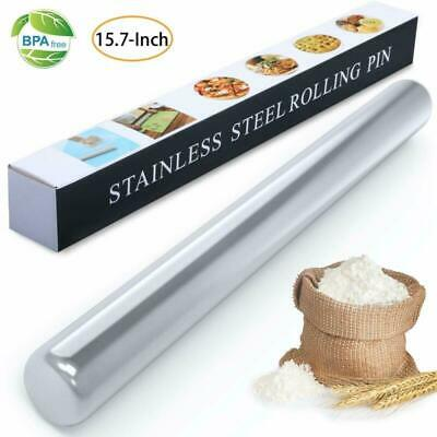 WisFox Stainless Steel Rolling Pin, Metal Rolling Pins for Baking,Cookie  Pastr