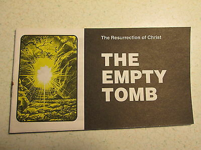 The Empty Tomb - Jack Chick Tract - 1990