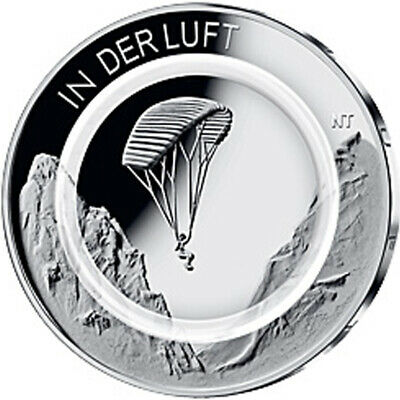 Germany Commemorative Coin 2019 st Air Moves Polymer Ring Loose
