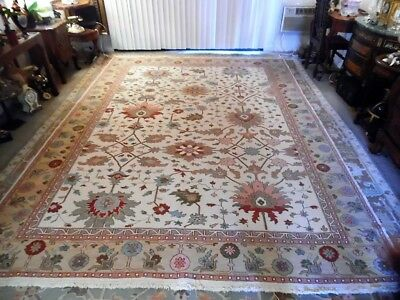 Fine Quality genuine Large Wool Hand knotted Persian Rug Carpet