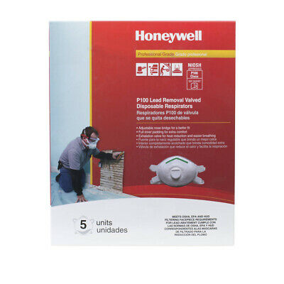 Honeywell Sperian Saf-T-Fit Plus P100 Disposable Respirator with exhalation valv