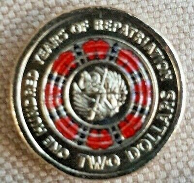 2019 $2 Bring Them Home A Hundred Years Of Repatriation Multi Colour $2 Coin