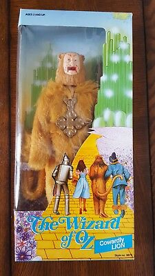 Wizard of Oz 50th Anniversary Cowardly Lion Doll Multi Toy Corp 1988